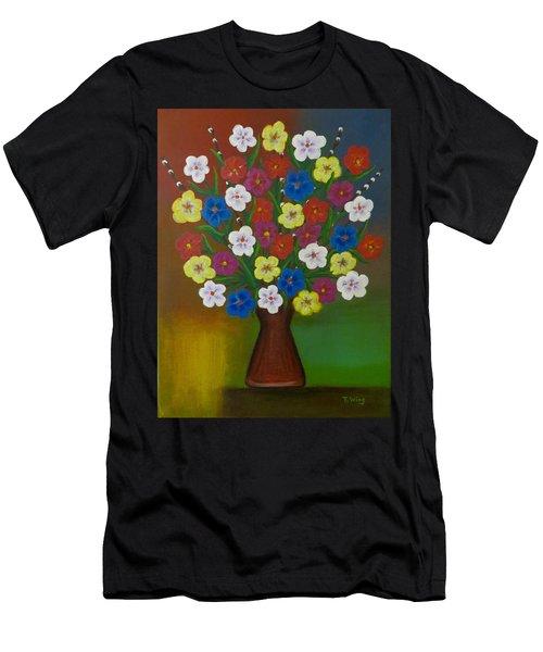 Brilliant Bouquet Men's T-Shirt (Athletic Fit)