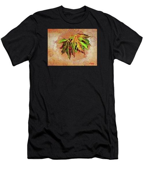 Brilliant Is The Color Of Autumn  Men's T-Shirt (Athletic Fit)