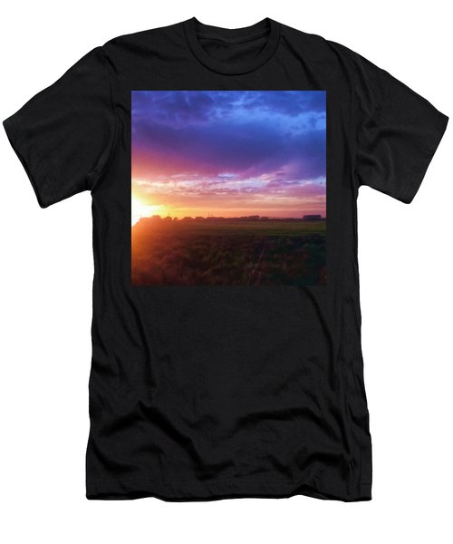 Brilliant Skies Men's T-Shirt (Athletic Fit)
