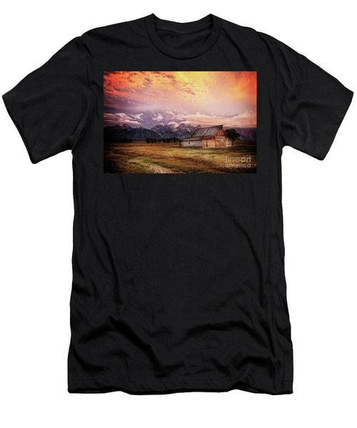 Brilliant Sunrise Men's T-Shirt (Athletic Fit)