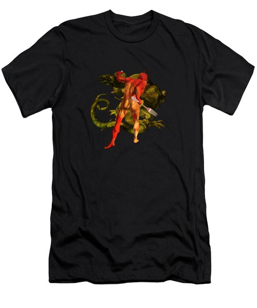 Bringing Home The Bacon Men's T-Shirt (Athletic Fit)