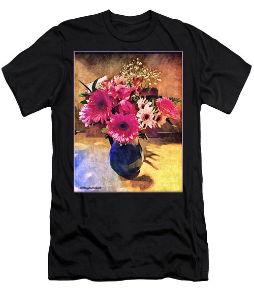 Brithday Wish Bouquet Men's T-Shirt (Athletic Fit)