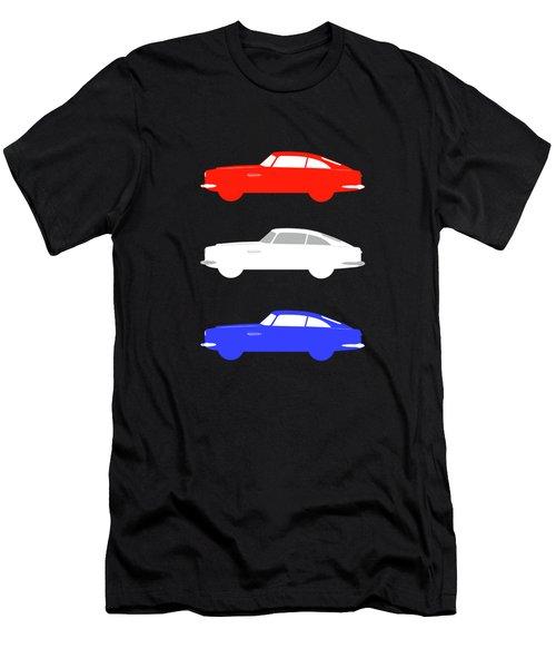 British Icon - Aston Martin Db5 Men's T-Shirt (Athletic Fit)