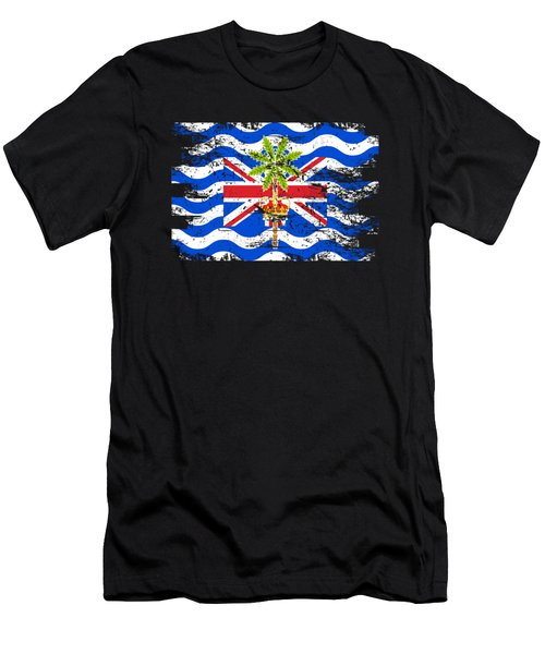British Indian Ocean Shirt Gift Country Flag Patriotic Travel Asia Light Men's T-Shirt (Athletic Fit)