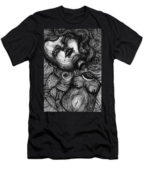 Broken Doll Men's T-Shirt (Athletic Fit)
