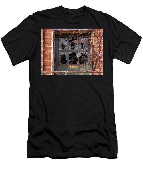 Men's T-Shirt (Athletic Fit) featuring the photograph Broken Promises  by Lynda Lehmann