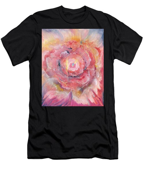 Broken Spirit Rose Men's T-Shirt (Athletic Fit)