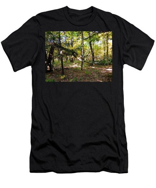 Broken Tree 1 Men's T-Shirt (Athletic Fit)