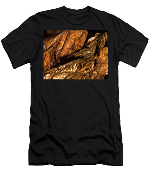 Bronze Leaves Men's T-Shirt (Athletic Fit)