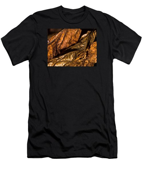 Bronze Leaves Men's T-Shirt (Athletic Fit)