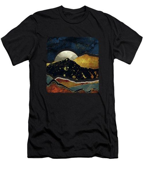 Bronze Night Men's T-Shirt (Athletic Fit)