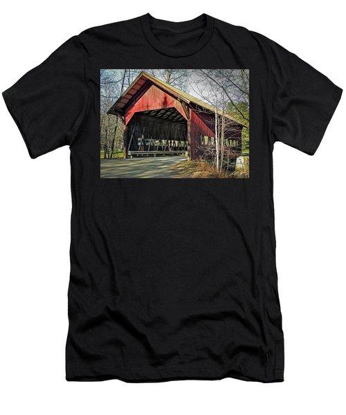 Brookdale Bridge Men's T-Shirt (Athletic Fit)