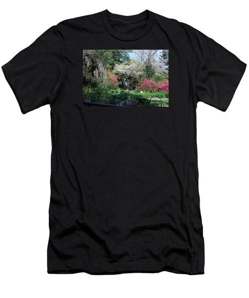 Brookgreen Gardens 2 Men's T-Shirt (Slim Fit) by Gordon Mooneyhan