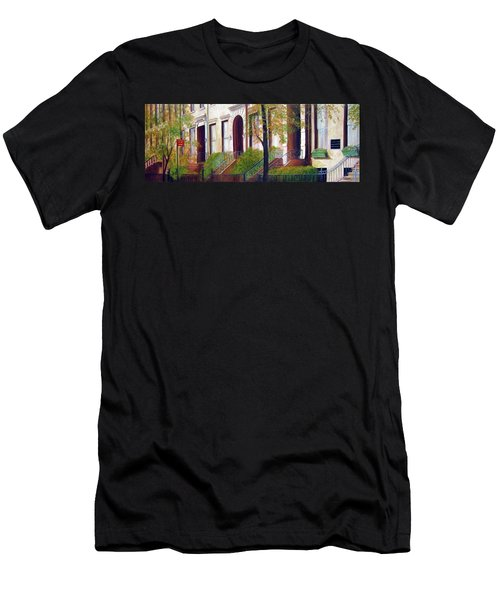 Brooklyn Brownstone Corridor 2 Men's T-Shirt (Athletic Fit)