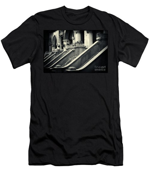 Brooklyn Park Slope Stoops Men's T-Shirt (Athletic Fit)