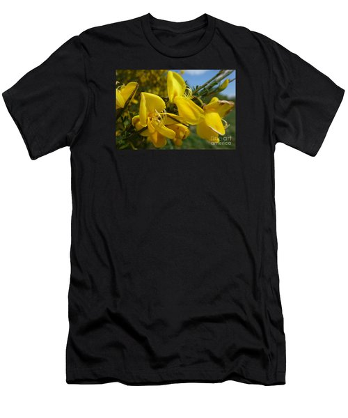 Broom In Bloom 3 Men's T-Shirt (Athletic Fit)
