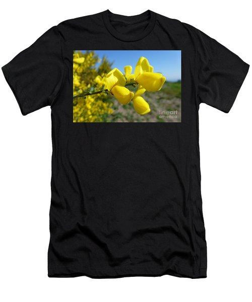 Broom In Bloom 4 Men's T-Shirt (Athletic Fit)