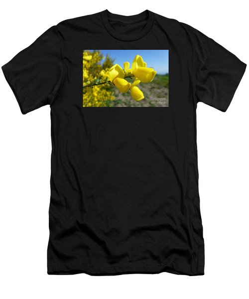 Broom In Bloom 4 Men's T-Shirt (Athletic Fit)