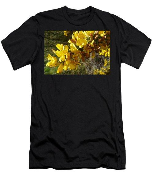Broom In Bloom Men's T-Shirt (Athletic Fit)