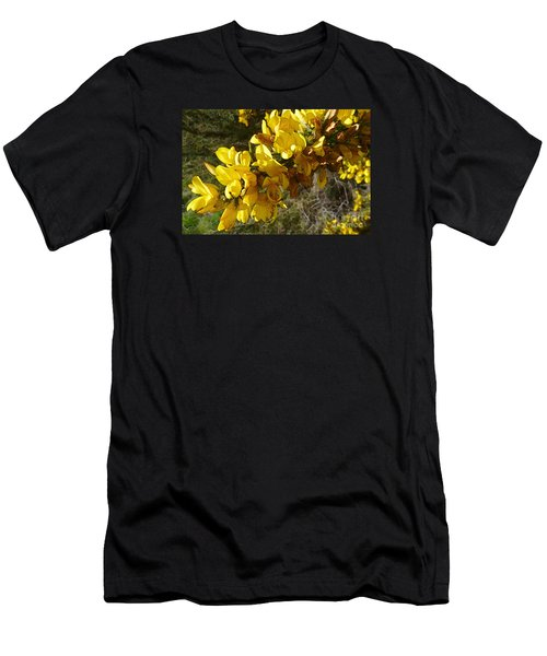 Broom In Bloom Men's T-Shirt (Athletic Fit)