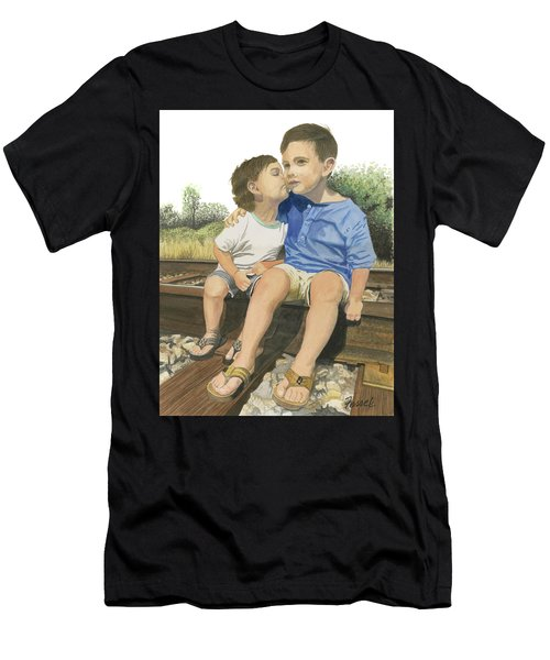 Brotherly Love Men's T-Shirt (Athletic Fit)