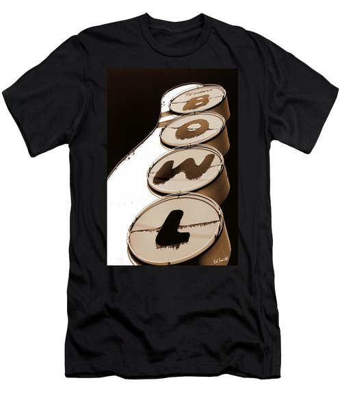 Brown Bowl Men's T-Shirt (Athletic Fit)