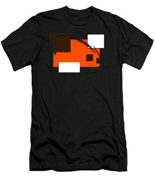Browns Abstract Shirt Men's T-Shirt (Athletic Fit)