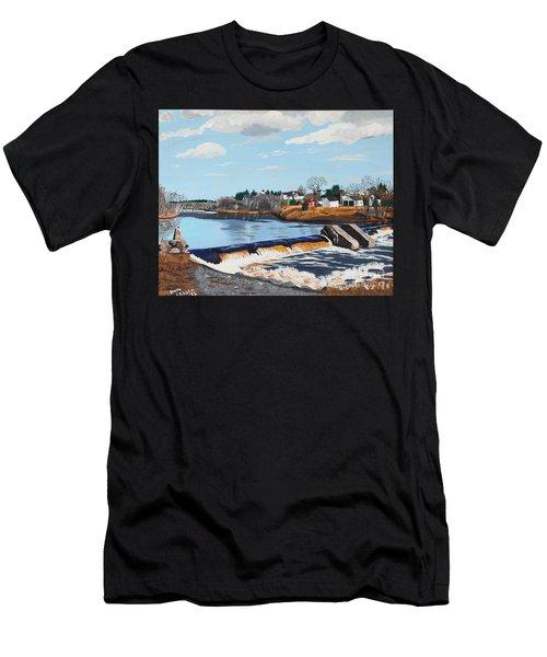Brownville Village Dam Men's T-Shirt (Athletic Fit)