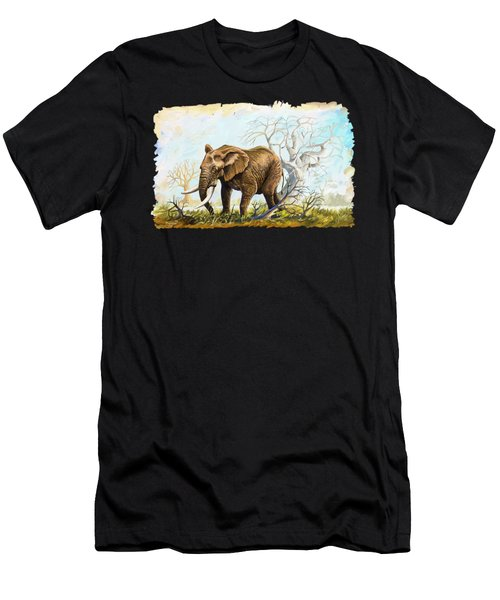Browsing In The Bushes Men's T-Shirt (Athletic Fit)