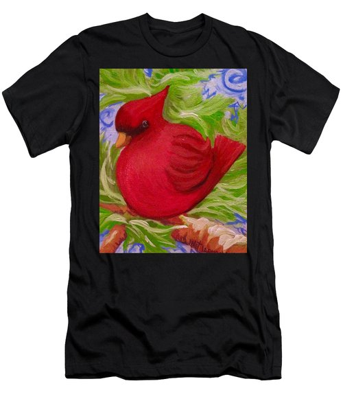 Brrr Bird Men's T-Shirt (Athletic Fit)