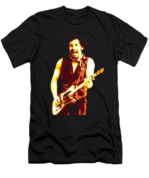 Bruce Springsteen Men's T-Shirt (Athletic Fit)