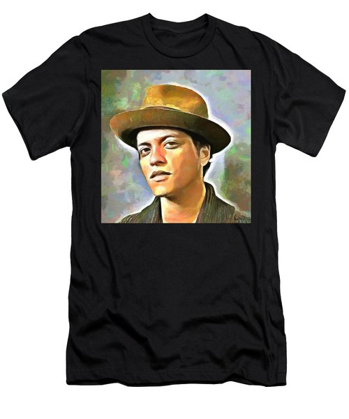 Bruno Mars Men's T-Shirt (Athletic Fit)