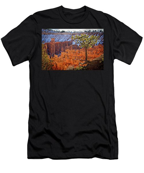 Men's T-Shirt (Athletic Fit) featuring the photograph Bryce Canyon by Wesley Aston