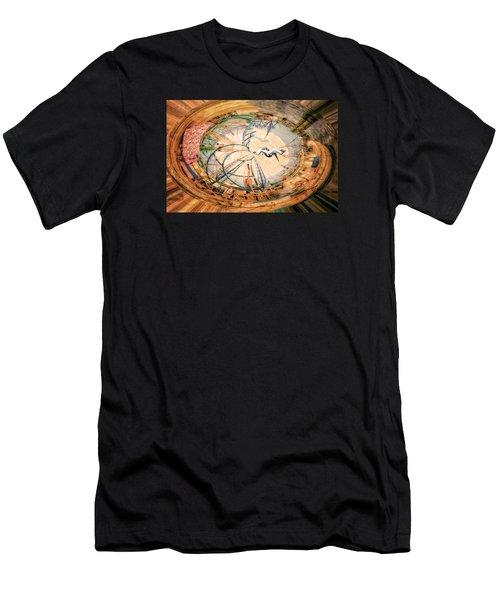 Bubble Gum Round Men's T-Shirt (Athletic Fit)