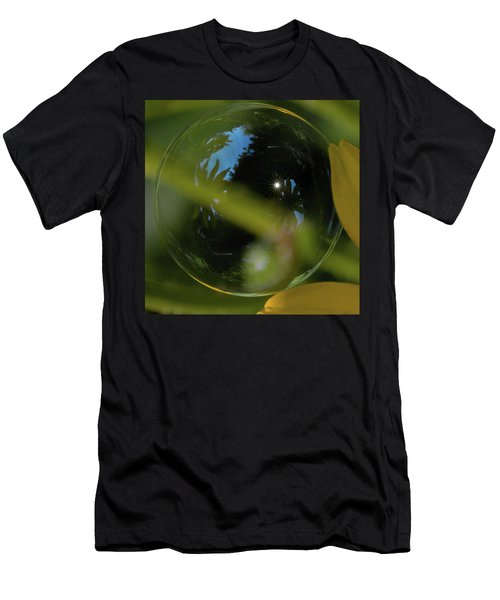 Bubble In The Garden Men's T-Shirt (Athletic Fit)