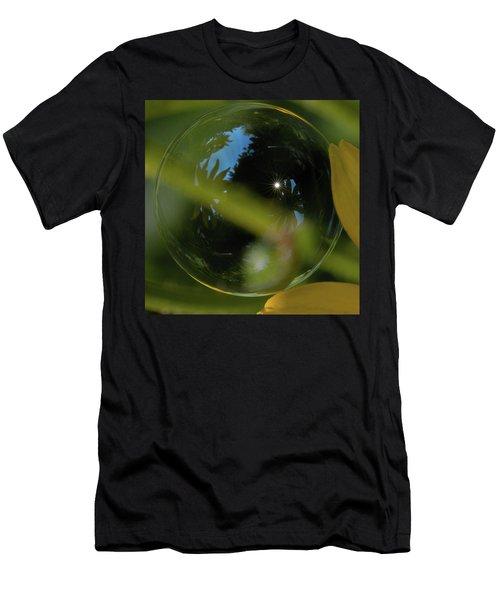 Bubble In The Garden Men's T-Shirt (Athletic Fit)