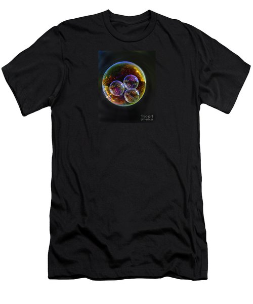 Bubble With Three Men's T-Shirt (Athletic Fit)