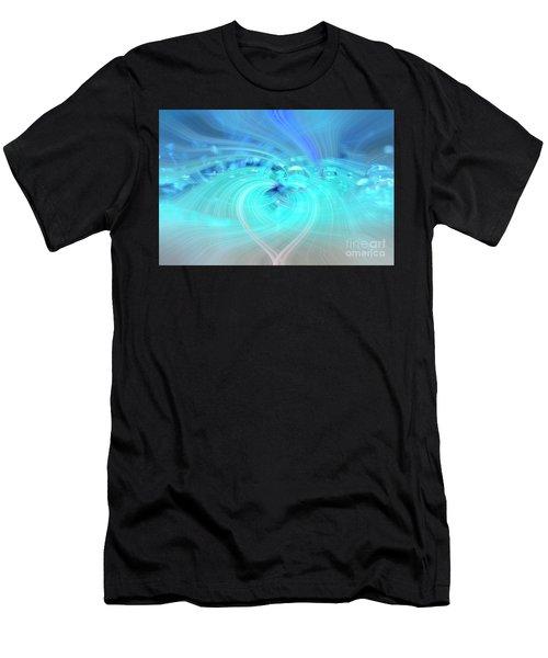 Bubbly Heart Men's T-Shirt (Athletic Fit)