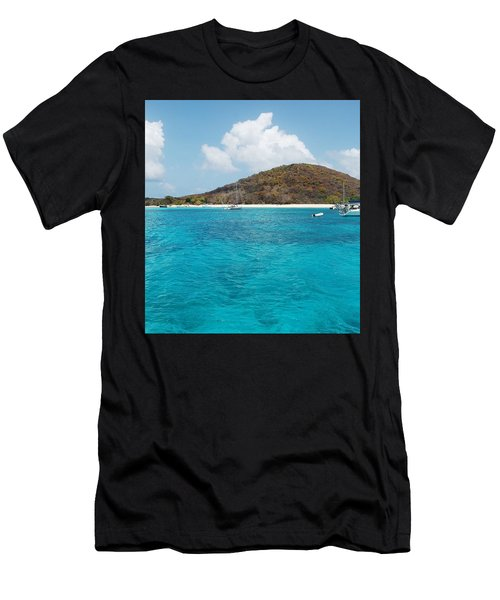 Buck Island Reef National Monument Men's T-Shirt (Athletic Fit)