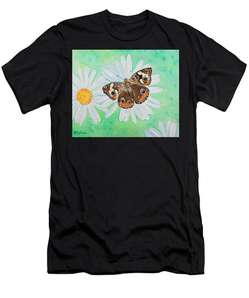 Buckeye On Oxeye Men's T-Shirt (Athletic Fit)