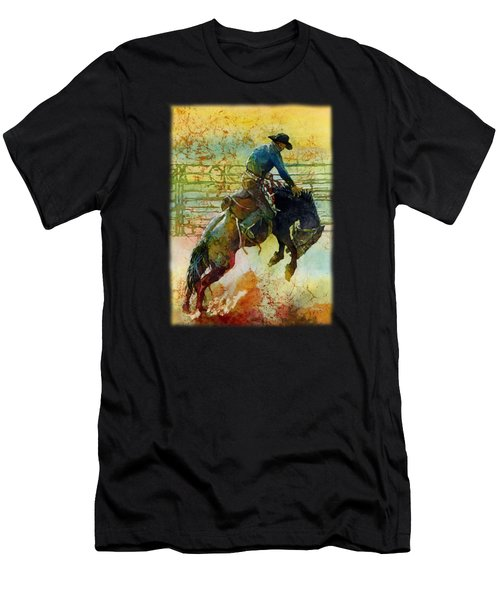 Bucking Rhythm Men's T-Shirt (Athletic Fit)