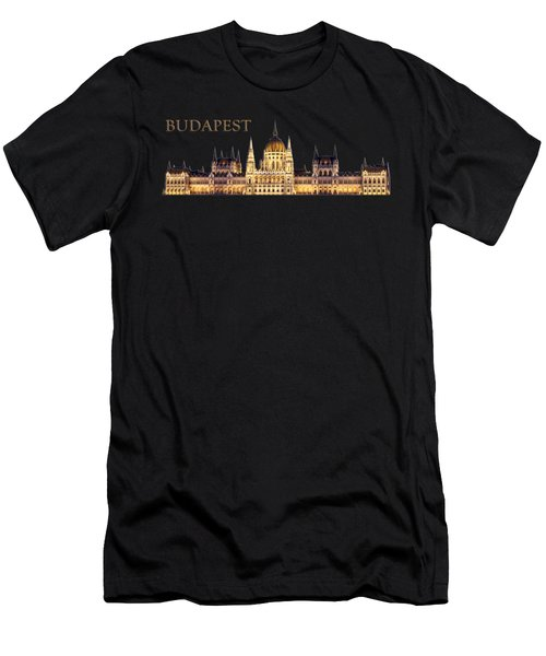 Budapest Men's T-Shirt (Athletic Fit)
