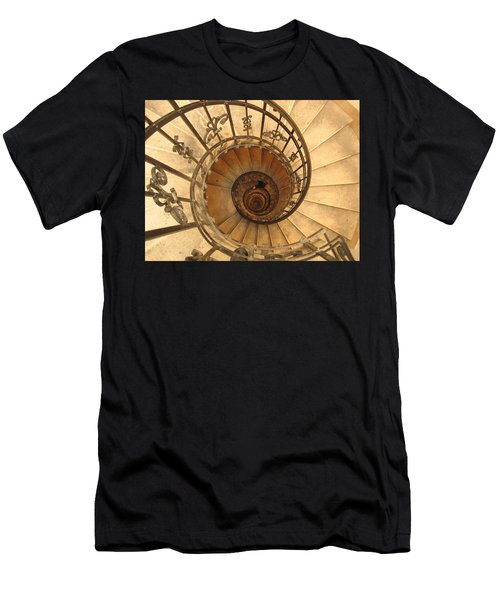 Budapest Staircase Men's T-Shirt (Athletic Fit)