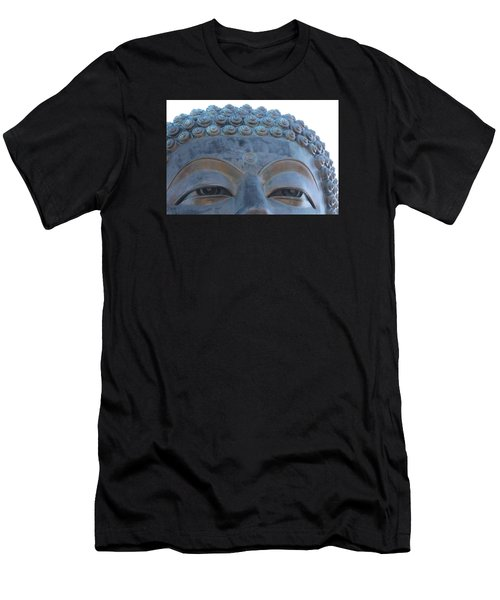 Buddha Eyes, Ngong Ping Village, Hong Kong Men's T-Shirt (Athletic Fit)