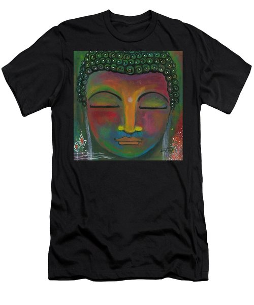 Buddha Painting Men's T-Shirt (Athletic Fit)