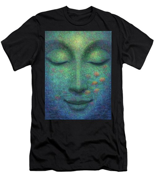 Buddha Smile Men's T-Shirt (Athletic Fit)
