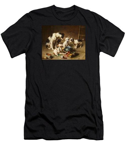 Budding Artists Men's T-Shirt (Athletic Fit)