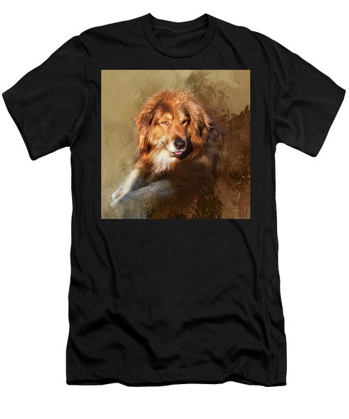 Men's T-Shirt (Slim Fit) featuring the photograph Buddy by Theresa Tahara