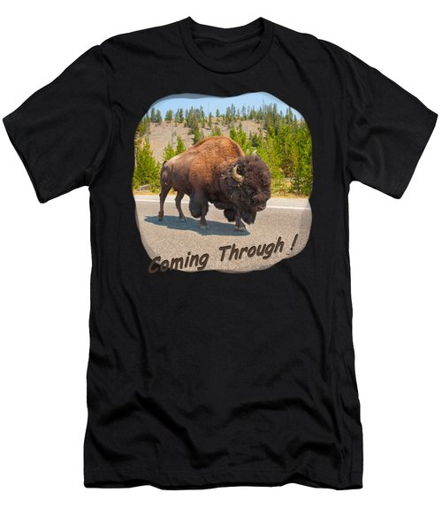 Buffalo Men's T-Shirt (Athletic Fit)