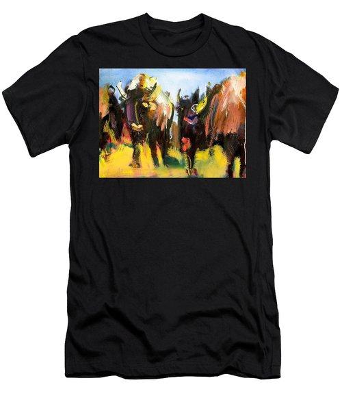 Buffalo Lips Men's T-Shirt (Athletic Fit)